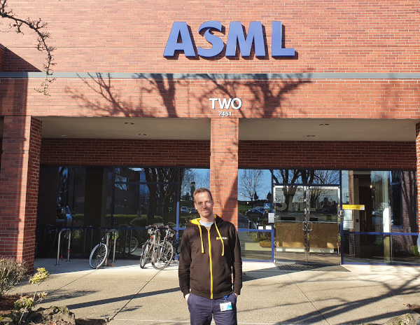 React developer Roy voor ASML